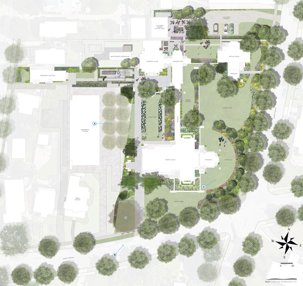 Darwin D. Martin House Complex, Landscape Rehabilitation