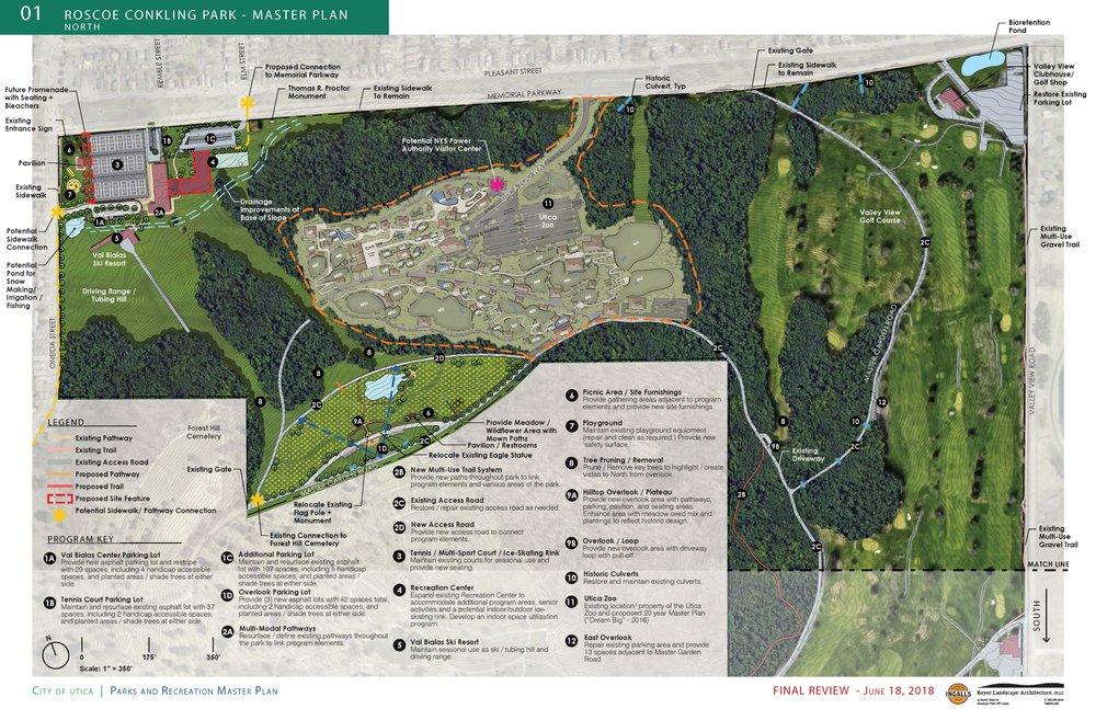 Utica Parks Masterplan