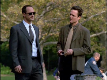 "Cassidy: ""I think I could have a long career at SVU."" Stabler: ""That's cute."""