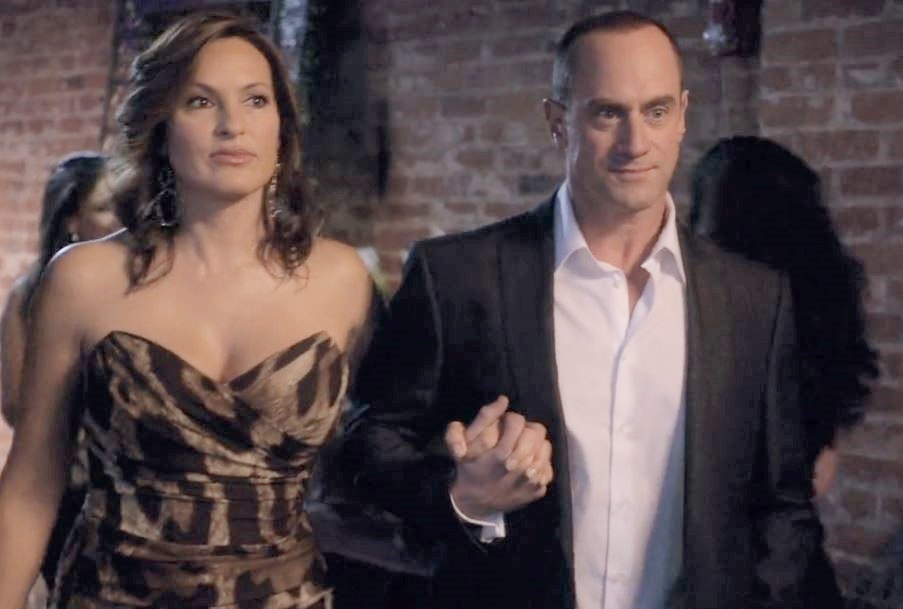 She may be undercover, but why does Olivia even  have  this dress?