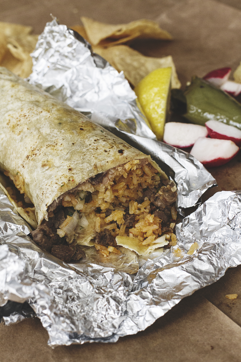 A Californian in Paris: Welcome Home Burrito