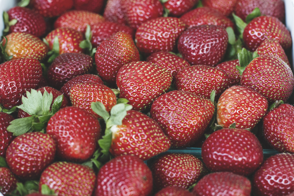 A Californian in Paris: California Strawberries