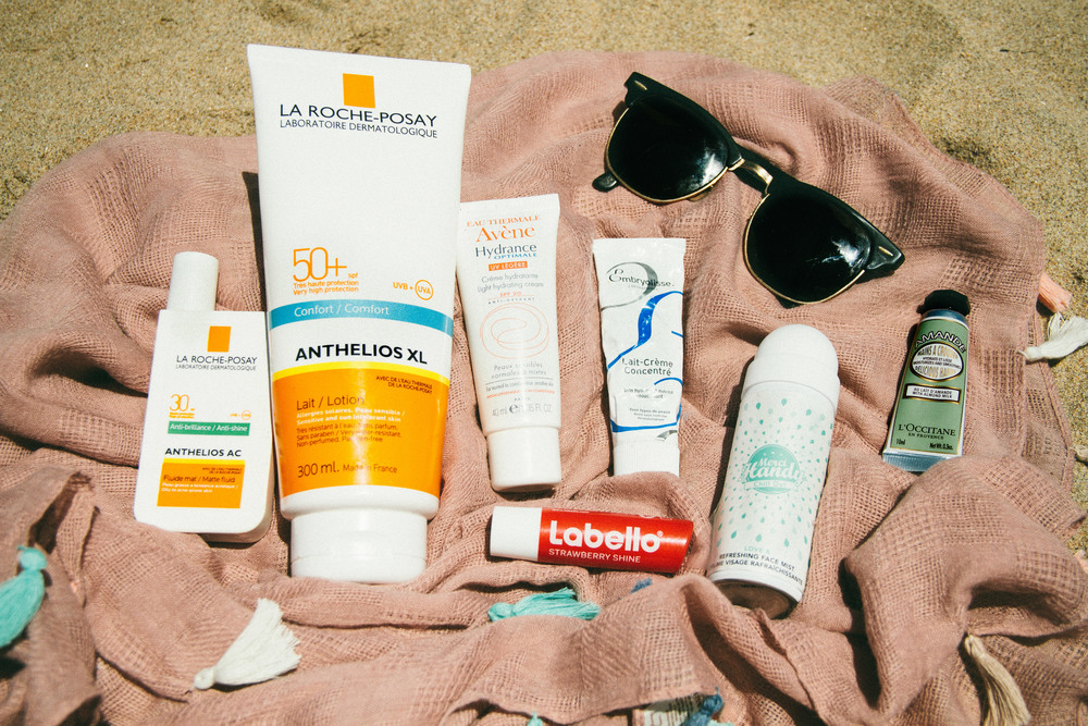 A Californian in Paris: French Skincare on a California Beach