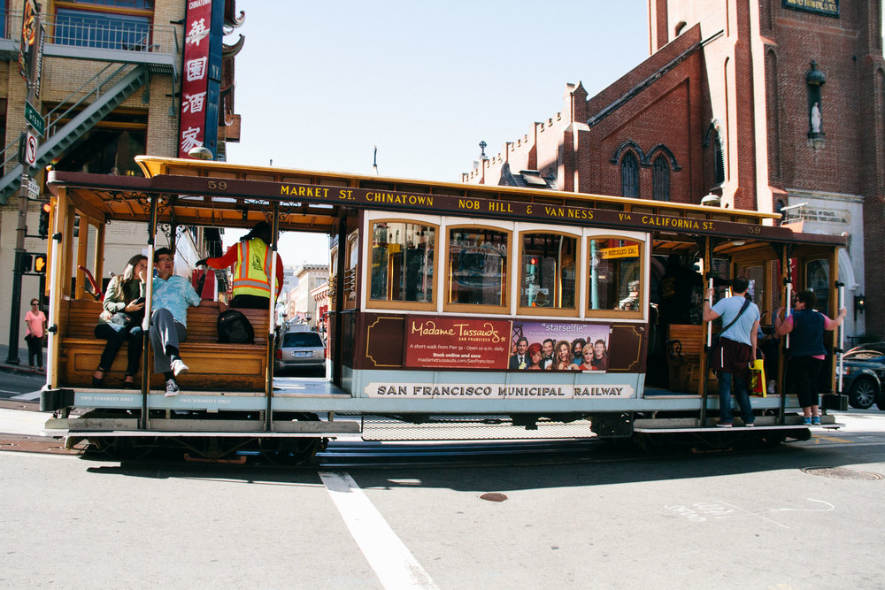 La Petite Californienne: San Francisco Trolley