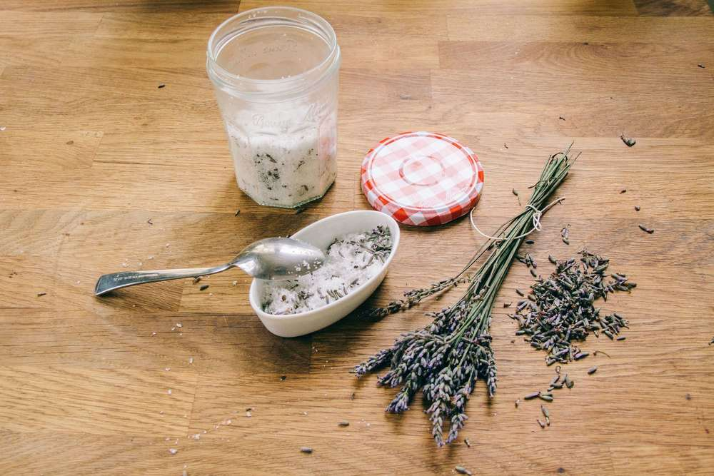 La Petite Californienne: Ingredients for the French Lavender Shortbread Cake