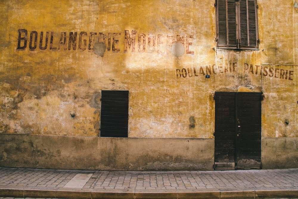 La Petite Californienne: A vintage-looking boulangerie (bakery) in Marseille, France