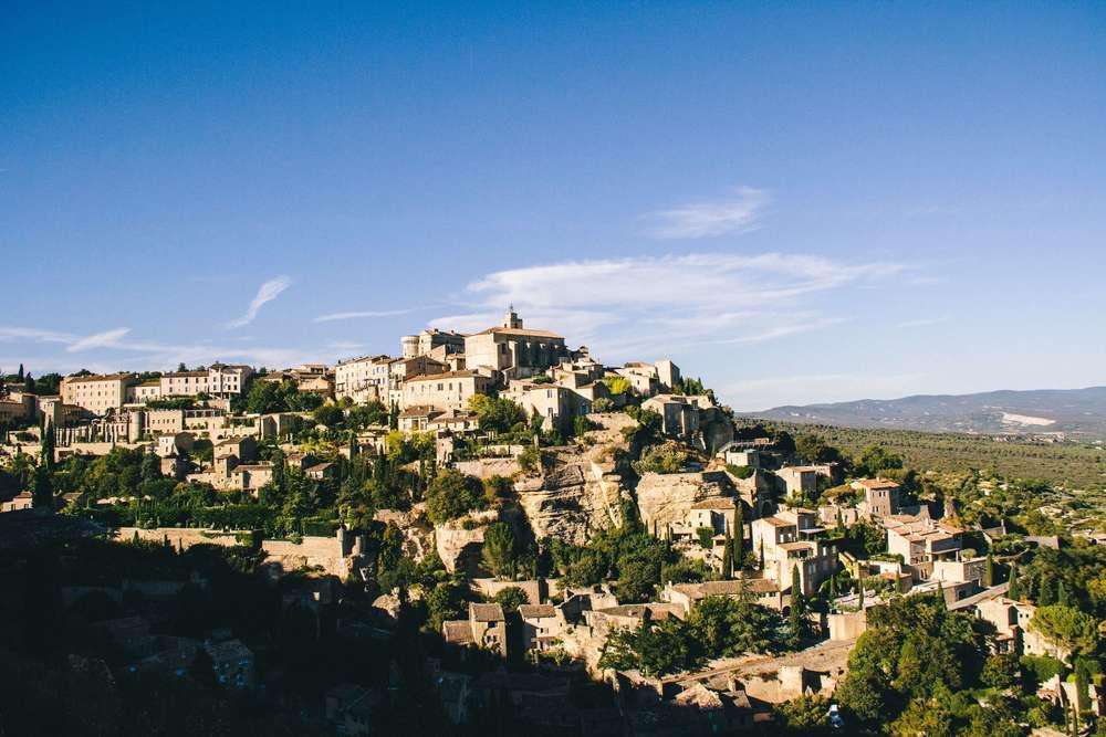 La Petite Californienne: The Town of Gordes, France