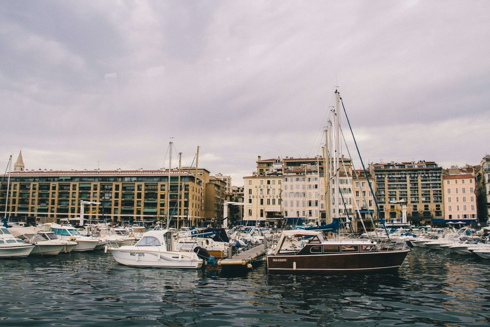 La Petite Californienne: The Old Port of Marseille