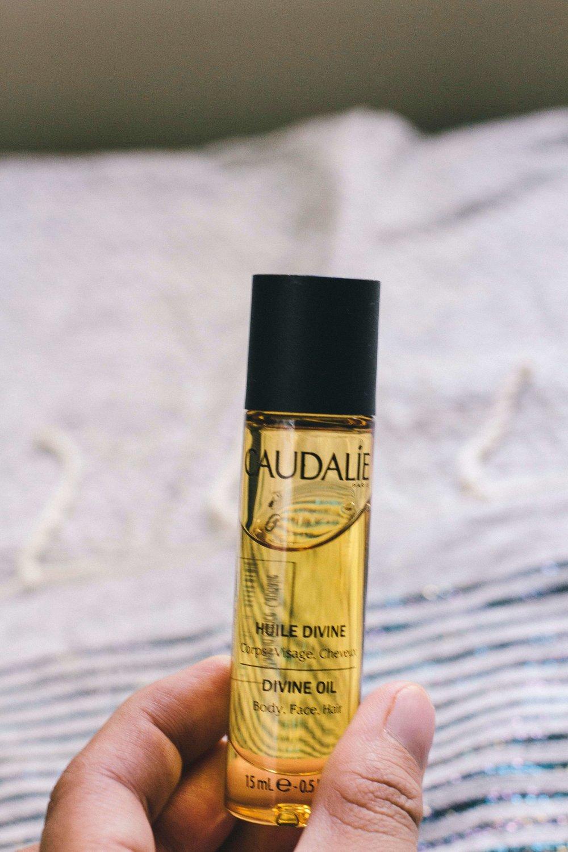 La Petite Californienne: Caudalie Divine Oil