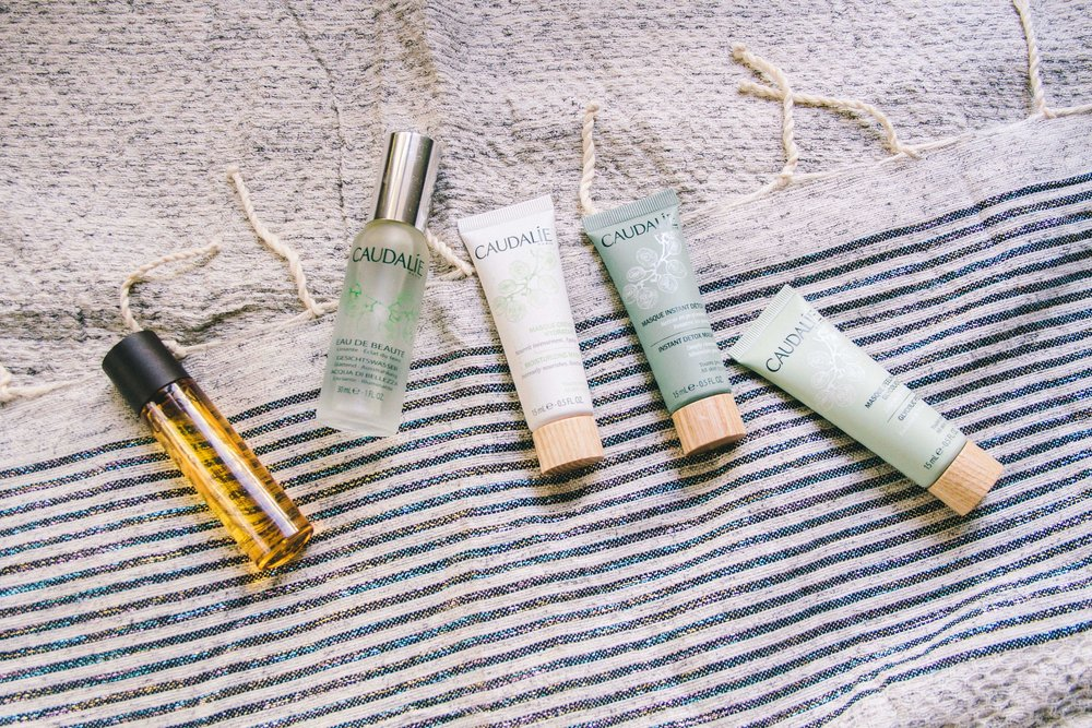 La Petite Californienne: Caudalie Skin Care Review