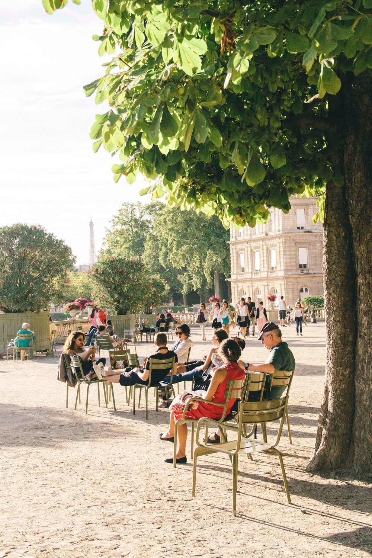 La Petite Californienne: Jardin du Luxembourg