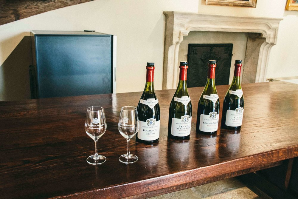 La Petite Californienne: Wine tasting at Chateau Meursault