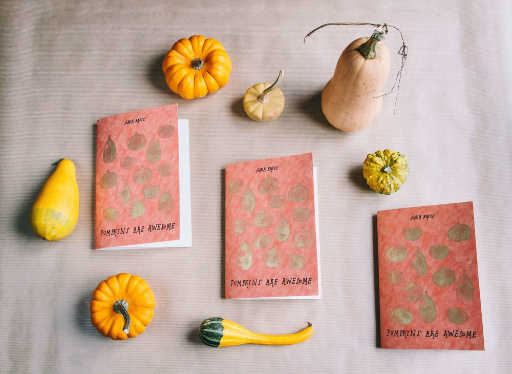 La Petite Californienne: Pumpkins are Awesome by Sonja Bajic