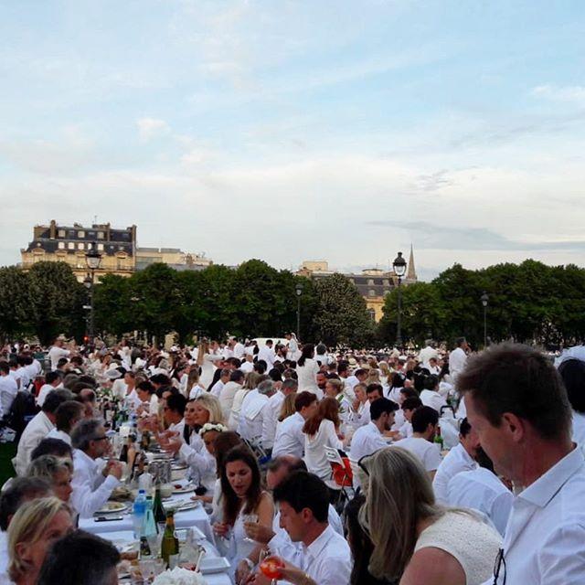Diner en Blanc 2018 ! #dinerenblanc