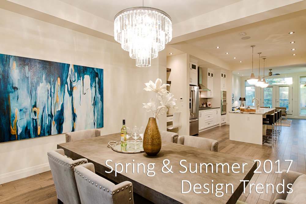 SpringSummer 2017 Design Trends Calgary Home Staging Dezin Group