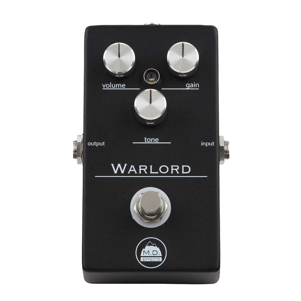 M.D. Effects Warlord  - overdrive tones for days. versatility encarnate.