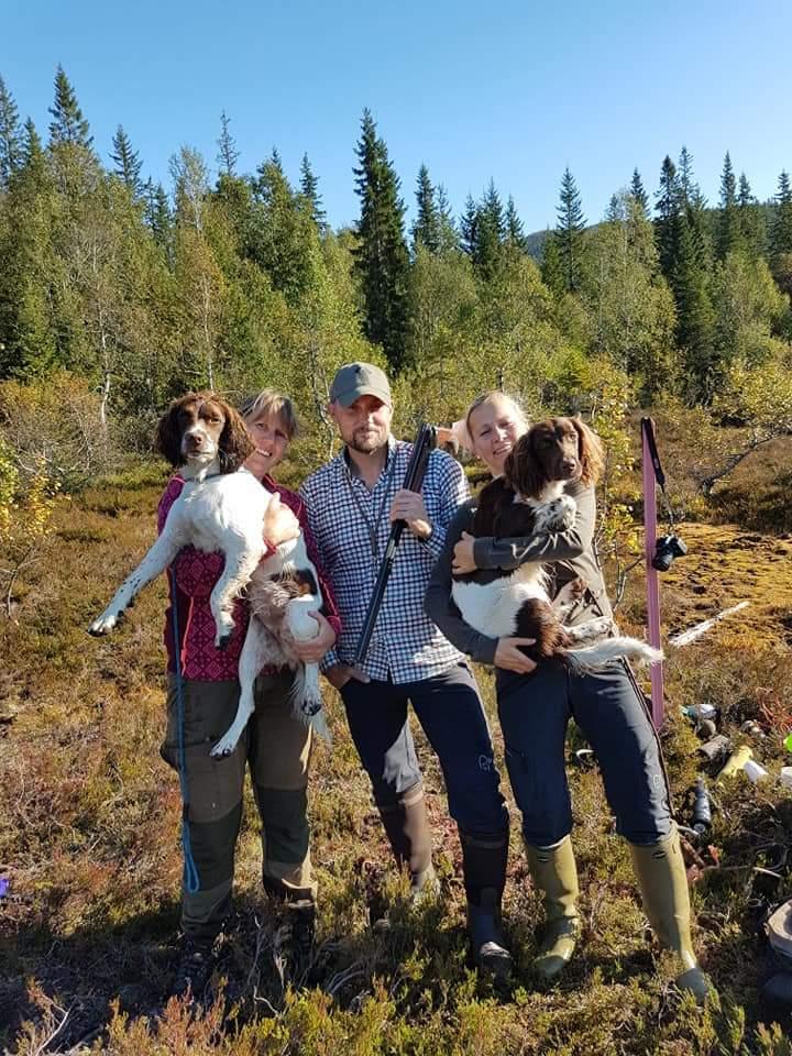 Deltakere fikk også innføring i haggleskyting og hvordan tilvenne hunden til at fører skyter selv