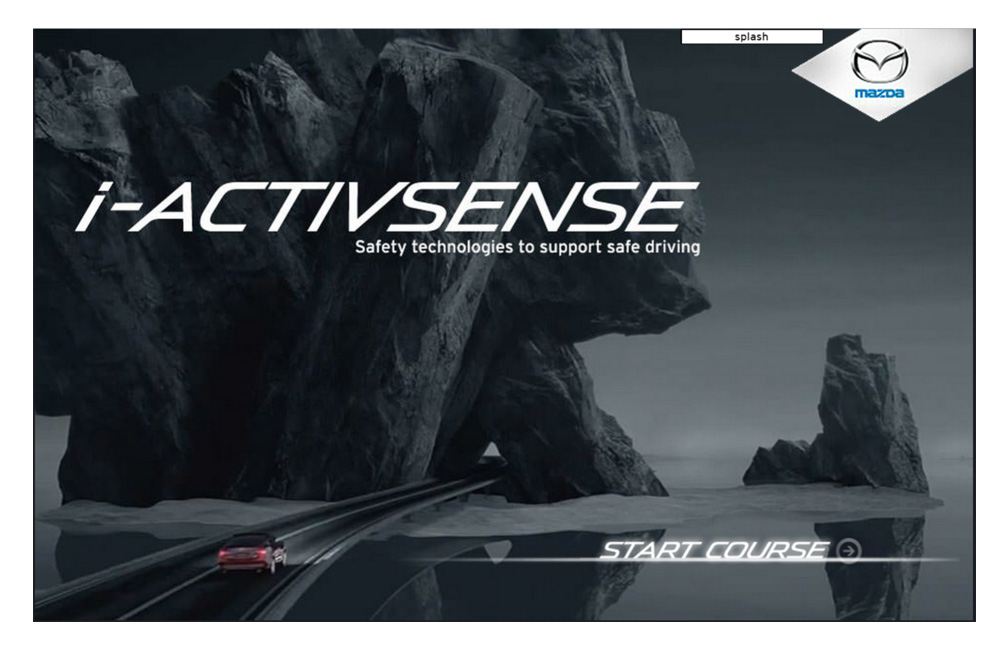 Mazda i-activsense Interactive eLearning Web Course View →