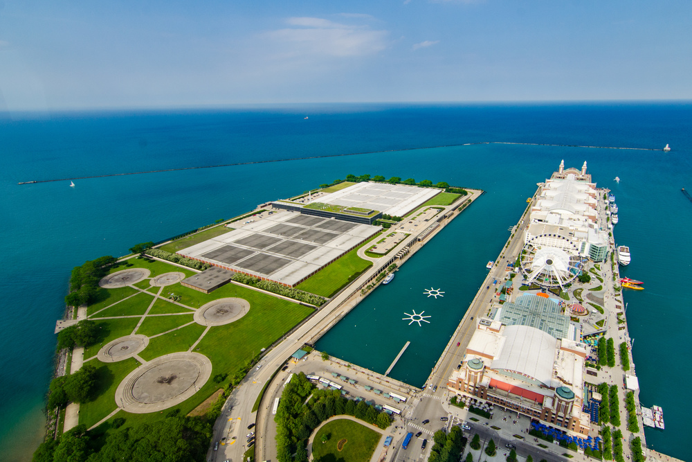 Navy Pier & Jardine Water Filtration Plant