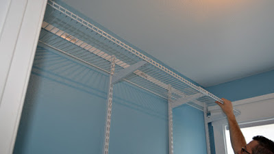 Rubbermaid HomeFree - 6 to 10 foot No Cut Closet Kit