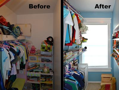 Kid's Closet Remodel
