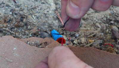 Prepare wire for soldering