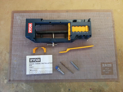 The Ryobi Door Hinge Template - contents