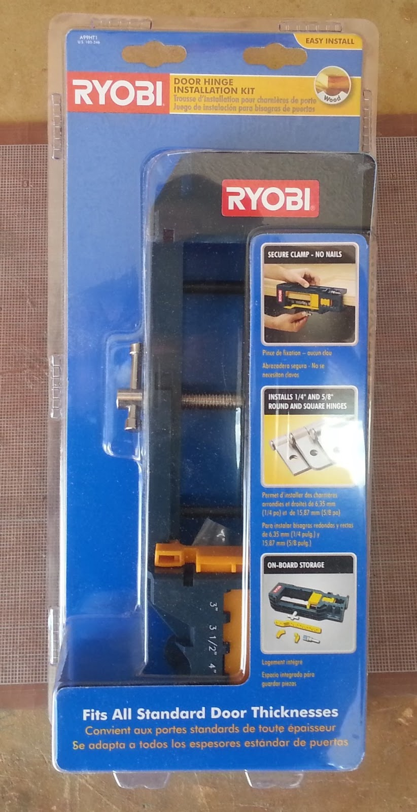 Review Ryobi Door Hinge Template & Review: Ryobi Door Hinge Template \u2014 AZ DIY Guy