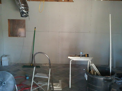 Dry Wall Madness and a Green Handled Broom