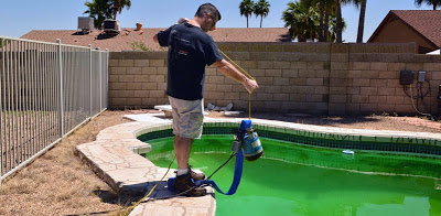 Renting a submersible pool pump
