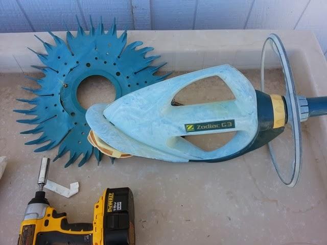 DIY Repairing a pool vacuum
