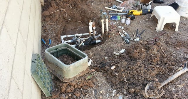 DIY Repairing a drip irrigation system