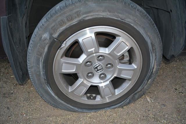 Busted Ridgeline Wheel