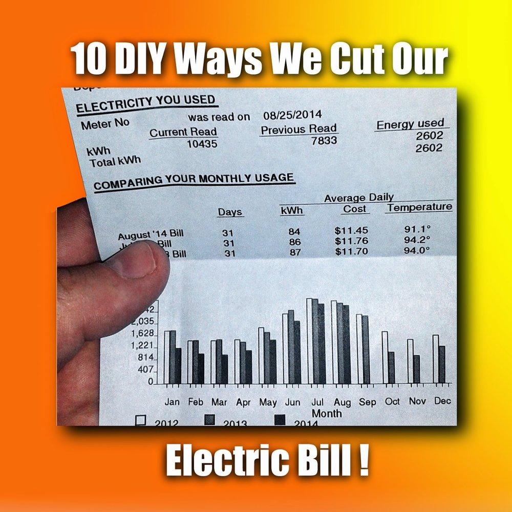 The 10+ DIY Ways We Cut Our Electric Bill