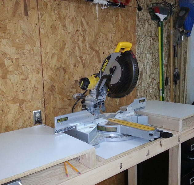 Magnificent Building A Miter Saw Bench Economical But Beefy Az Diy Guy Ocoug Best Dining Table And Chair Ideas Images Ocougorg