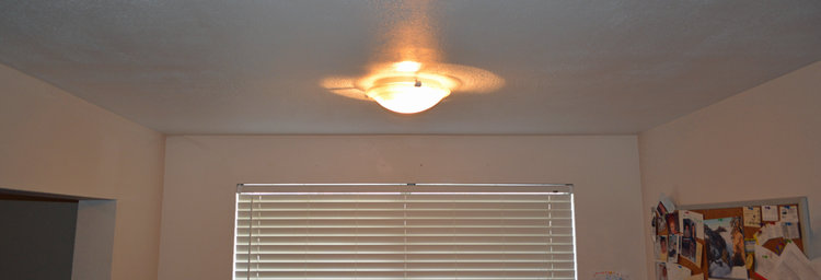Flat Panel LED Light Fixture Install With A Challenge Of Course - Flat ceiling light fixtures