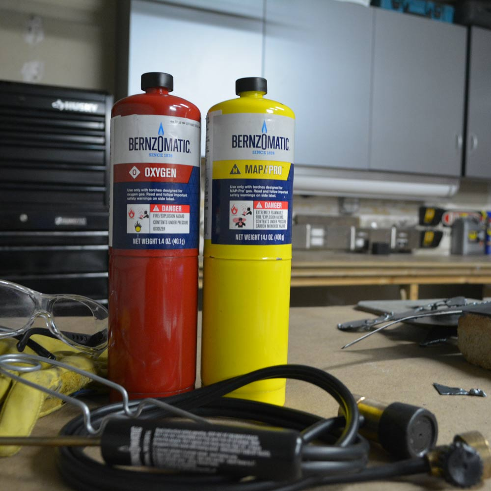 WK5500OX Cutting, Welding, and Brazing Torch Kit - Bernzomatic