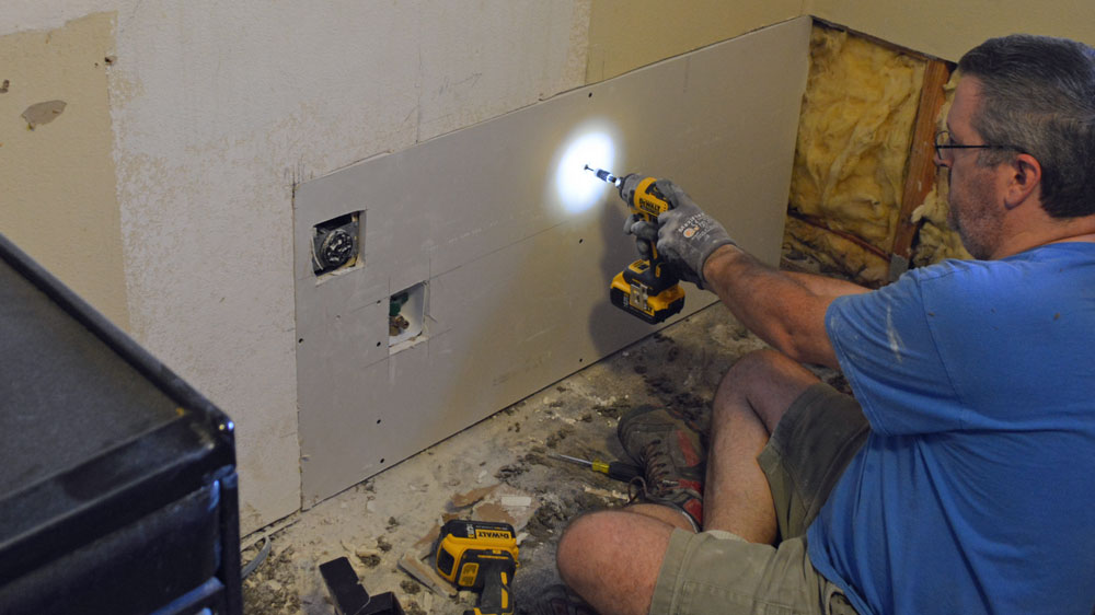 Impact Drivers make awesome drywall guns
