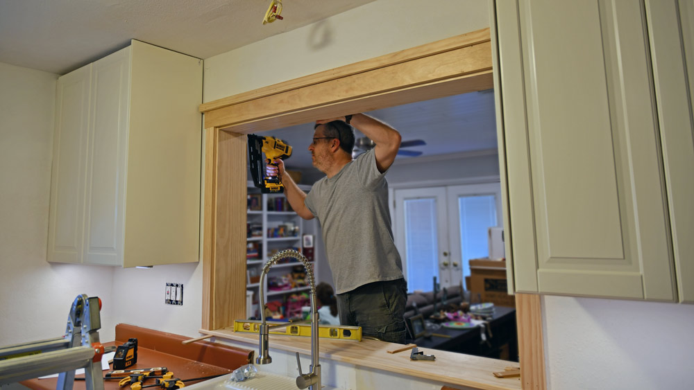 Craftsman Style Trim For A Window Opening Az Diy Guy