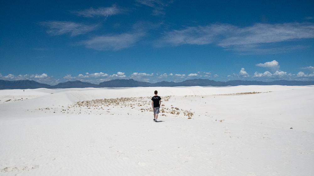 Walking the land, like Kwai Chang Cane