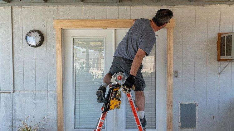 patio door repair craftsman trim - Patio Door Repair