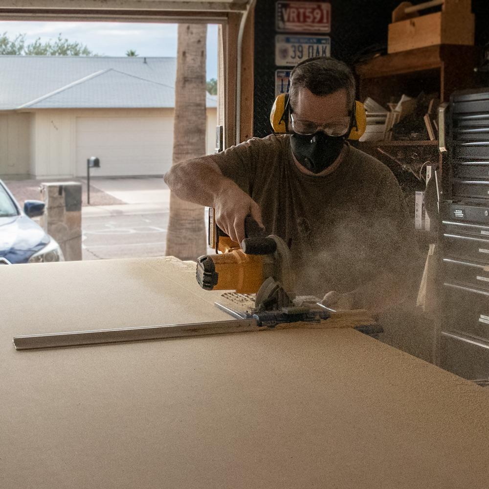 RZ Mask vs. sawdust