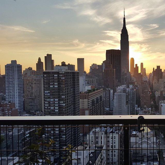 Beautiful City #nyc #view #sunset #beauty #artspace #instagood #inspiration