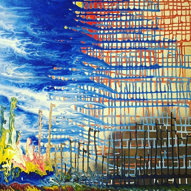 Come check out our #artistinresidence Evan Sebastian Lagache. #art #art space #instagood #soho #nyc