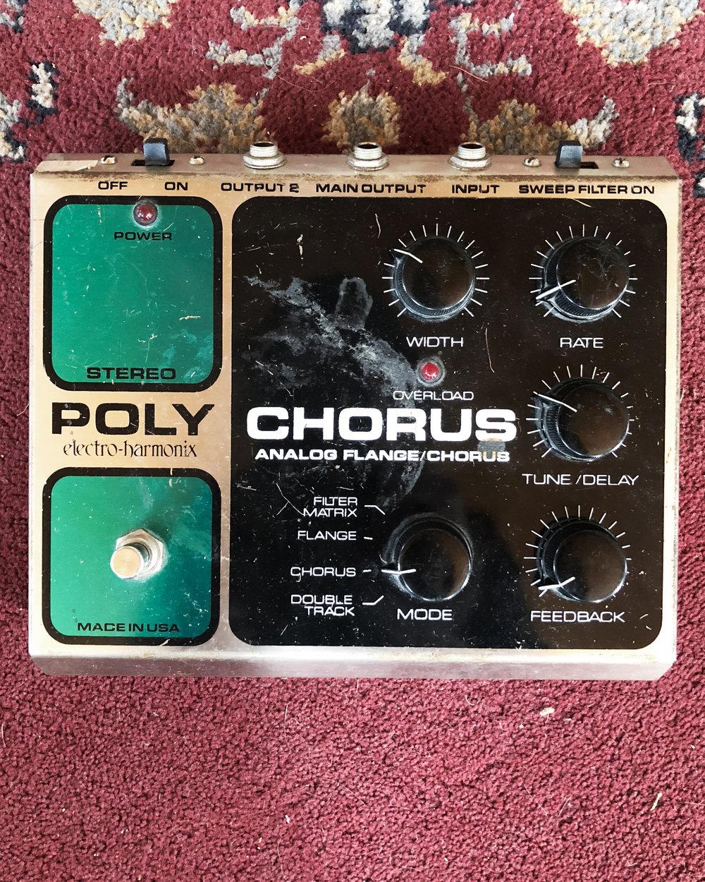 Electro-harmonix Poly Chorus (1998)