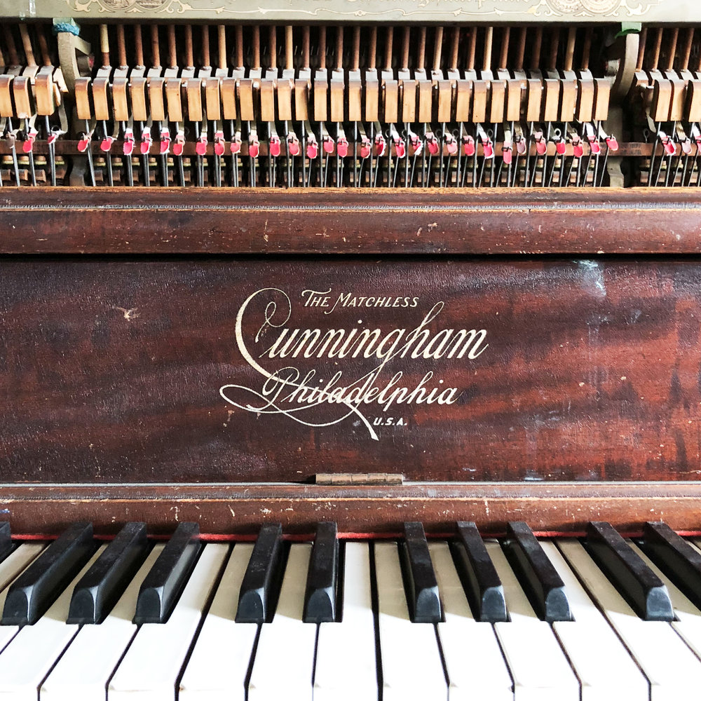 Cunningham Matchless Tack Piano