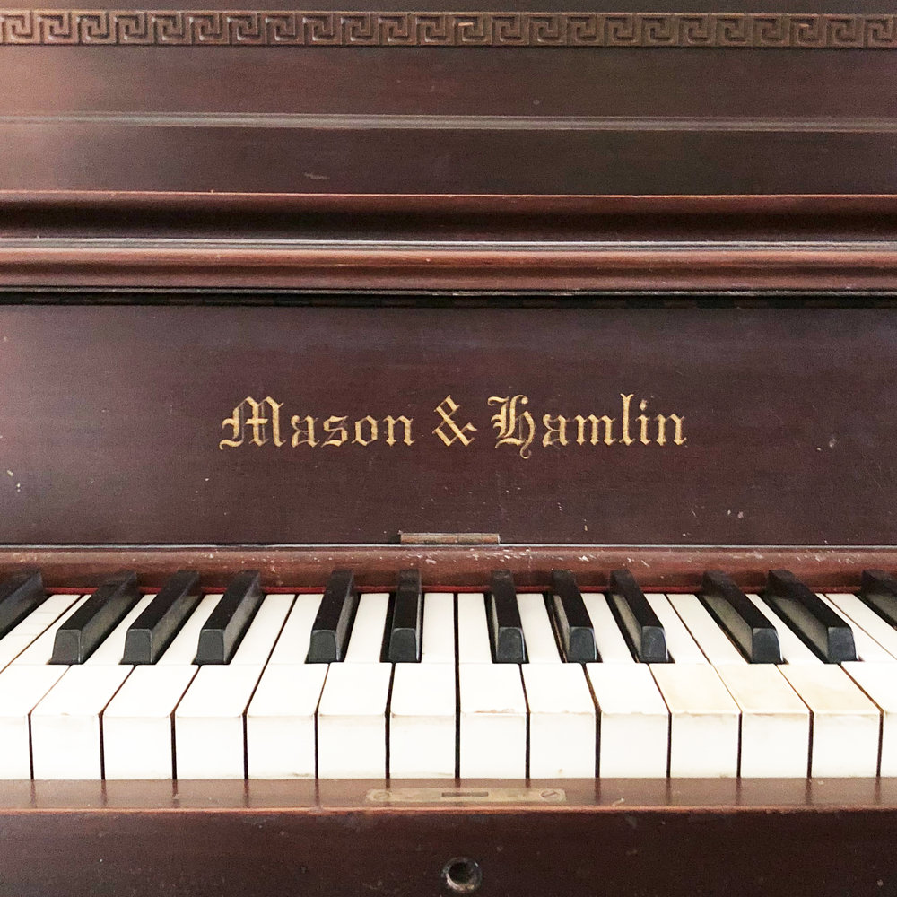 Mason and Hamlin Upright Grand Piano