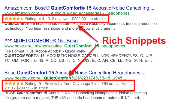 Rich-Snippets on Product Pages