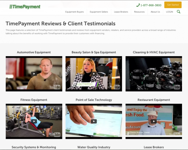 Customer-Testimonials-Vendor-Spotlights-on-TimePayment.com