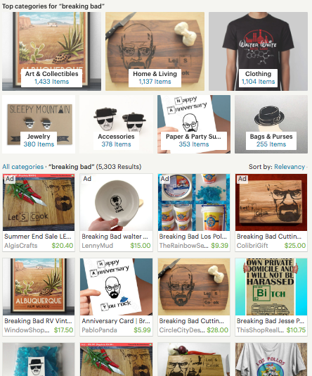 Breaking Bad Fan-Made Merchandise